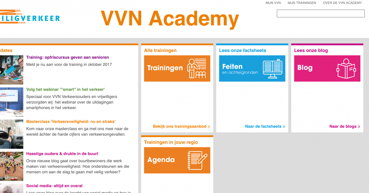 Foto VVN academy website